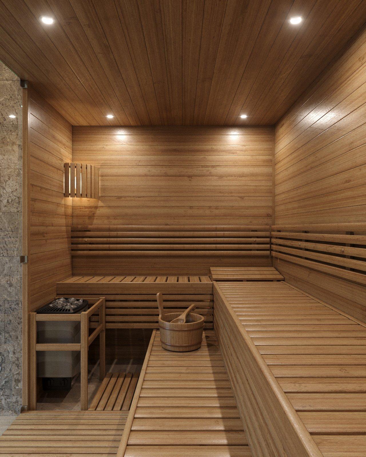 Внутренняя отделка бани: обустройство парилки и моечной внутри бань своими руками + фото