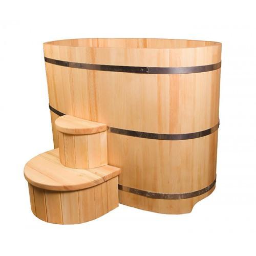Материалы, используемые для изготовления купелей, способы монтажа деревянных купелей в бане