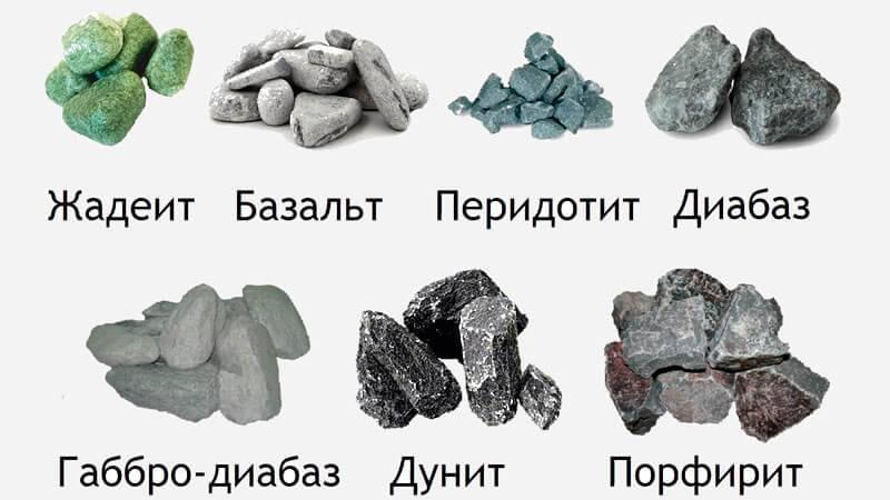 Как выбрать камень для бани – практические советы
