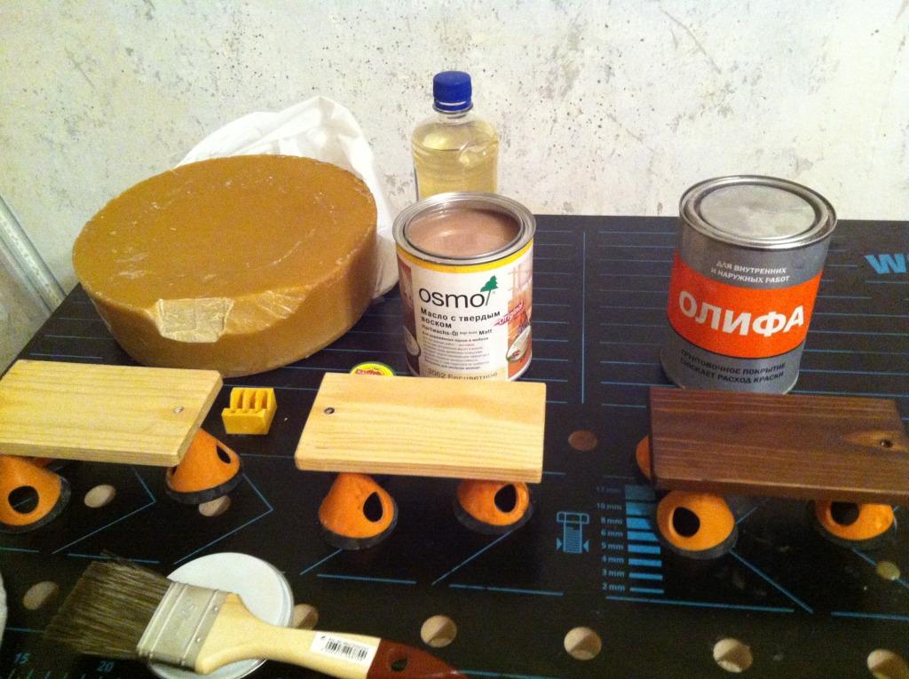 Масло для обработки дерева - выбор и особенности нанесения