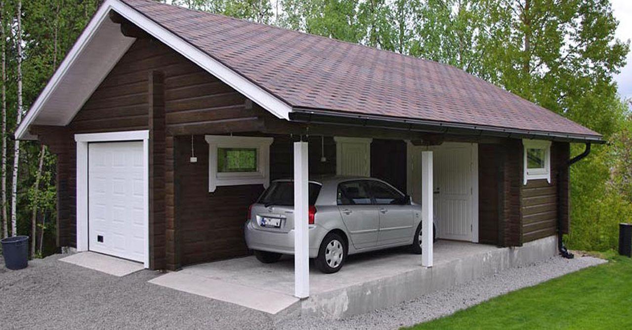 Топ 9: лучшие проекты гаража с баней