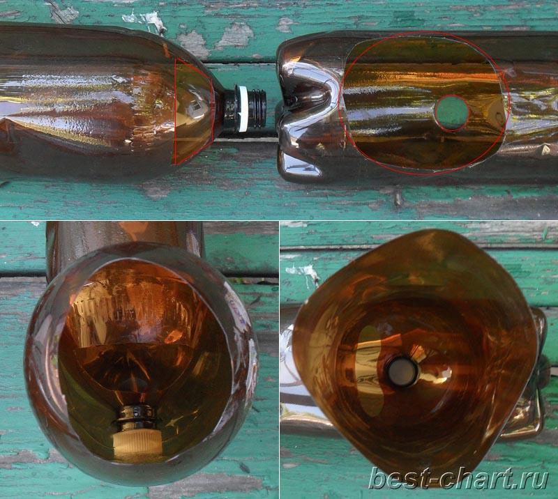 Как сделать водосток из пластиковых бутылок : labuda.blog