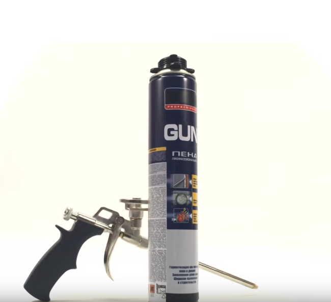 Как пользоваться монтажной пеной без пистолета