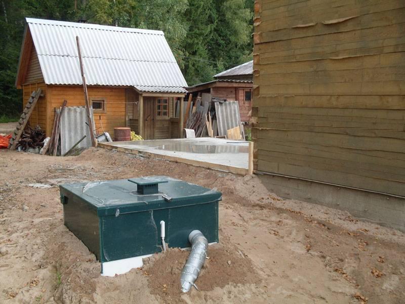 Как сделать канализацию в бане?