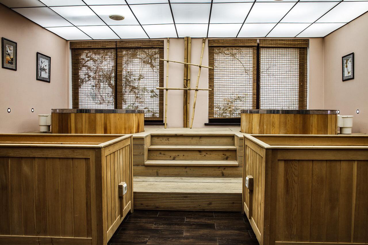 Баня японская офуро фурако с внешней дровяной печью. японские бани: офуро, фурако и сэнто – их особенности и эффективность процедур омовения