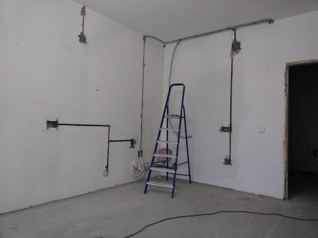 Советы, как штробить стены под проводку без пыли