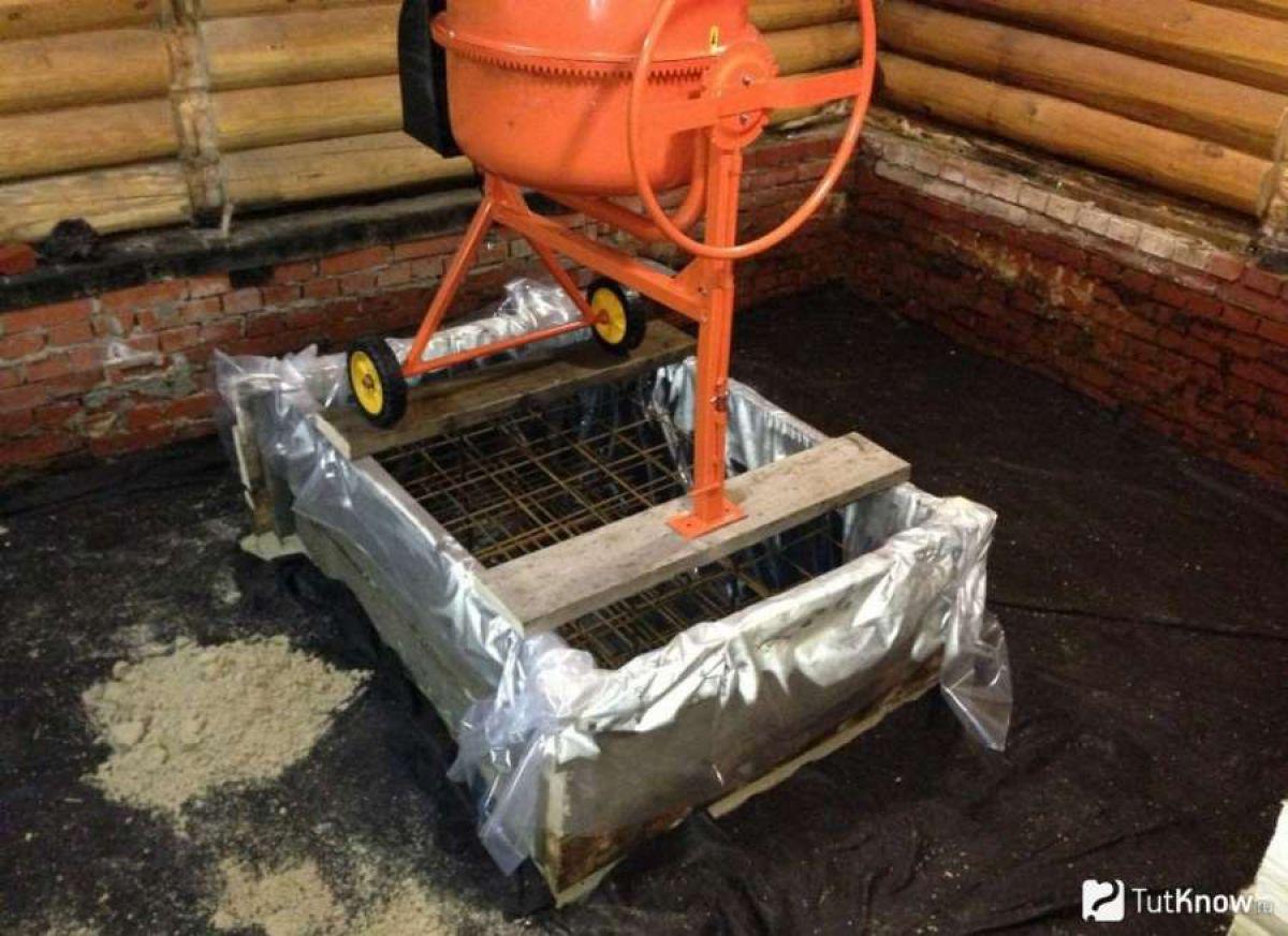 Нужен ли фундамент под печь в бане? ответ неоднозначен