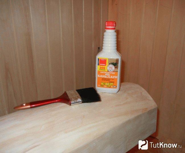 Внутренняя и внешняя обработка бани: как выбрать пропитку для стен