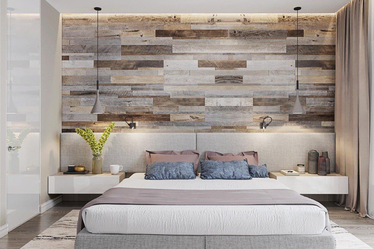 Использование ламината в отделке стен гостиной для создания модного дизайна