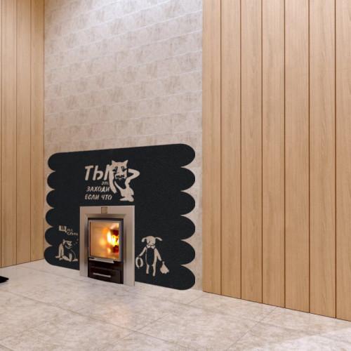 Экран для банной печи: защитный экран из нержавейки, кирпичный жаростойкий для металлической печки, ограждение в парилке из кирпича своими руками, фото и видео
