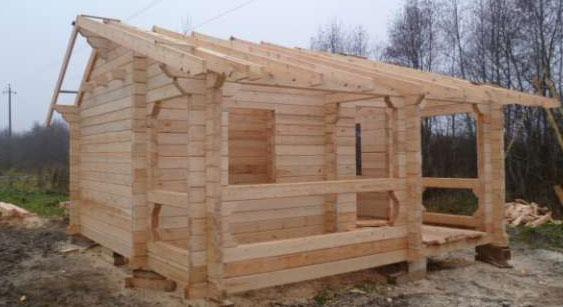 Строительство бани из бруса своими руками: как построить и основы сборки