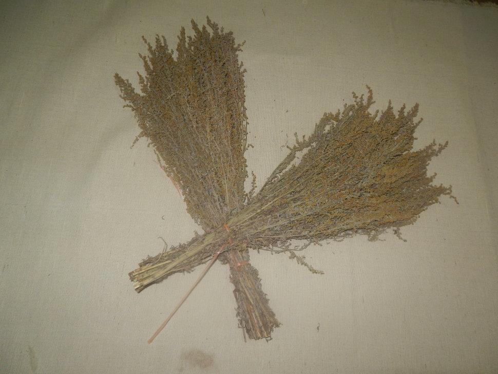 Веник из полыни для бани польза