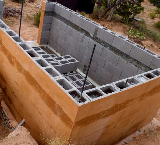 Как построить баню из керамзитоблоков, преимущества такой постройки