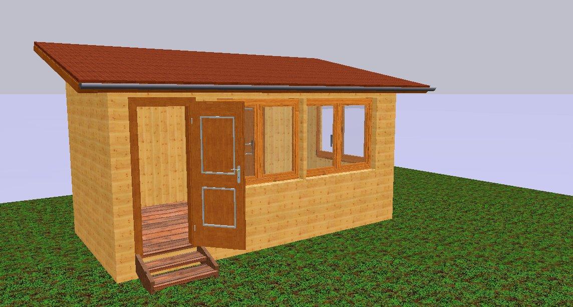 Баня и сарай под одной крышей: проекты пристройки