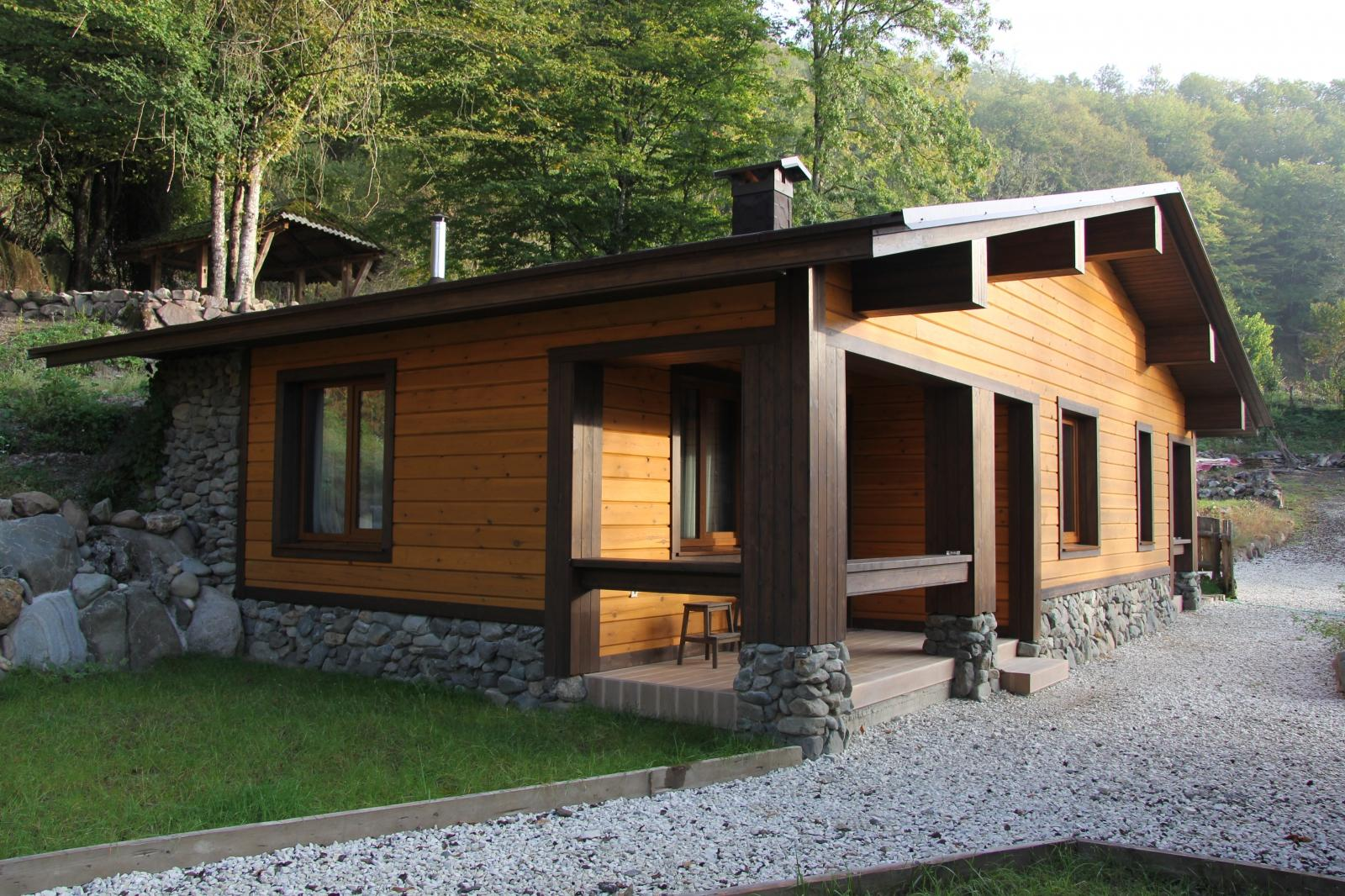 Проект дома с баней: преимущества совмещённых конструкций
