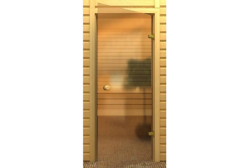 Стеклянная дверь для бани. Выясняем все плюсы и минусы