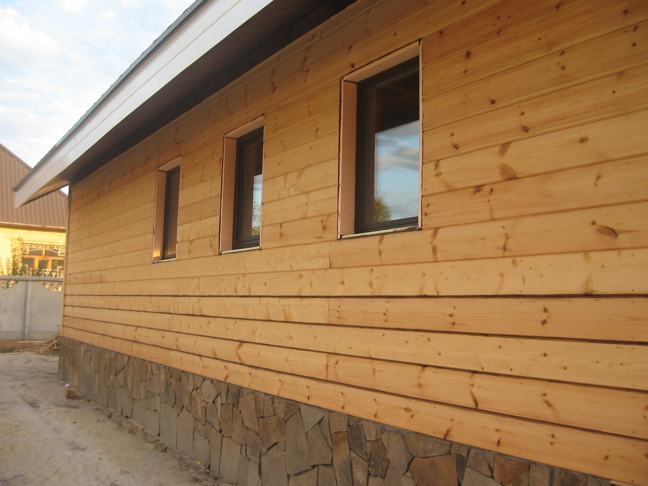 Правила выбора и монтажа имитации бруса для наружной отделки фасада дома, фото