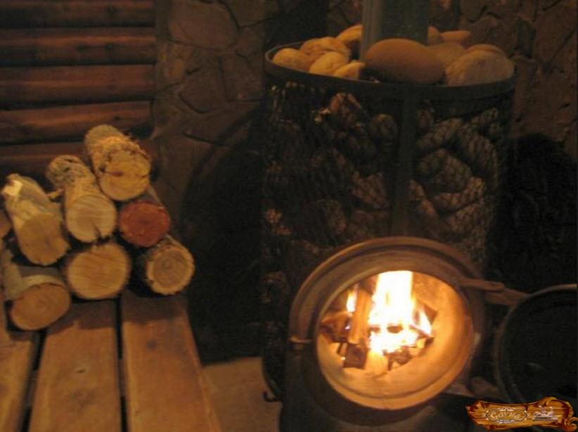 Печь для бани по-черному своими руками: инструкция по изготовлению