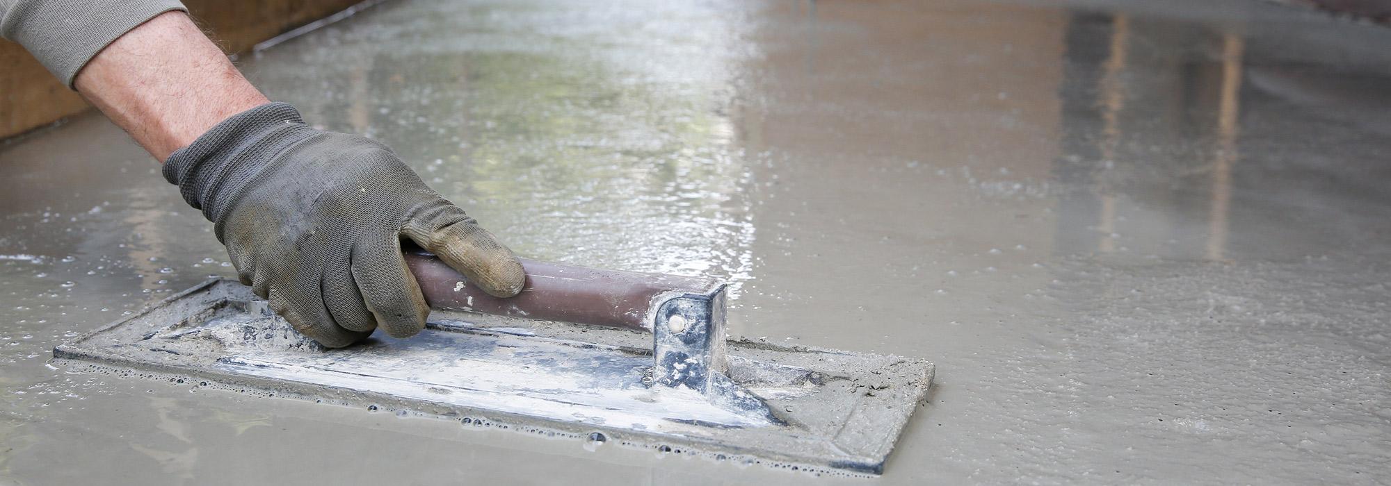 Железнение бетона как способ укрепления цементных покрытий