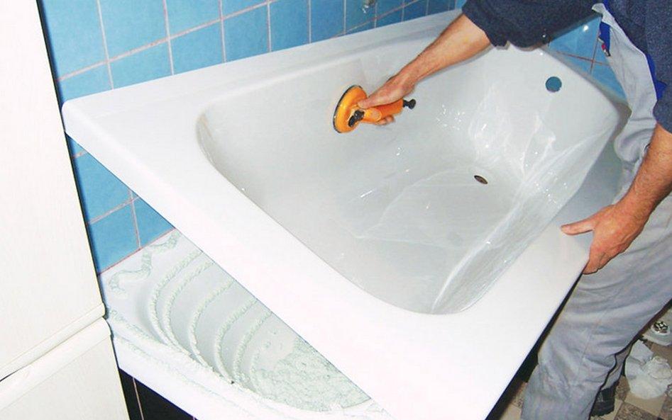 Как покрыть акрилом ванну в домашних условиях: различные способы и технологии реставрации, цена услуг