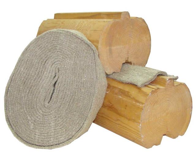 Как выбрать межвенцовый утеплитель - джутовый, льноватин, из шерсти