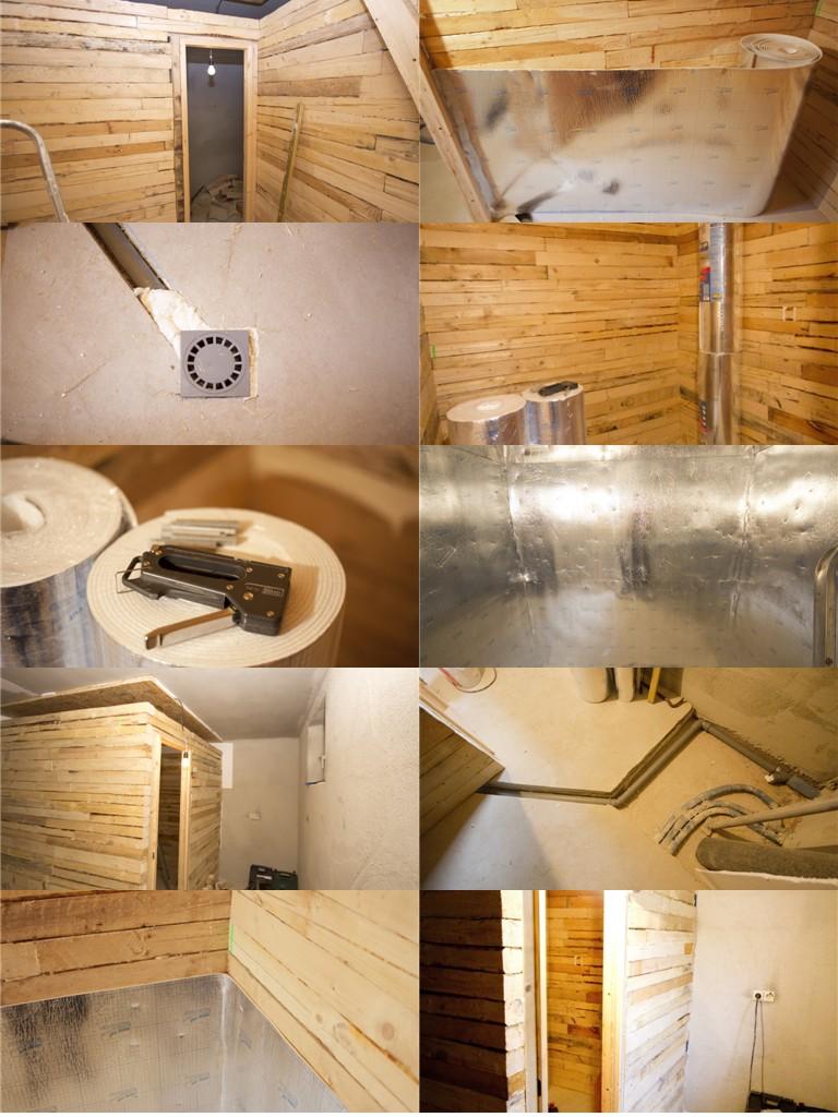 Оформление саун, бань и парилок в дизайне квартир