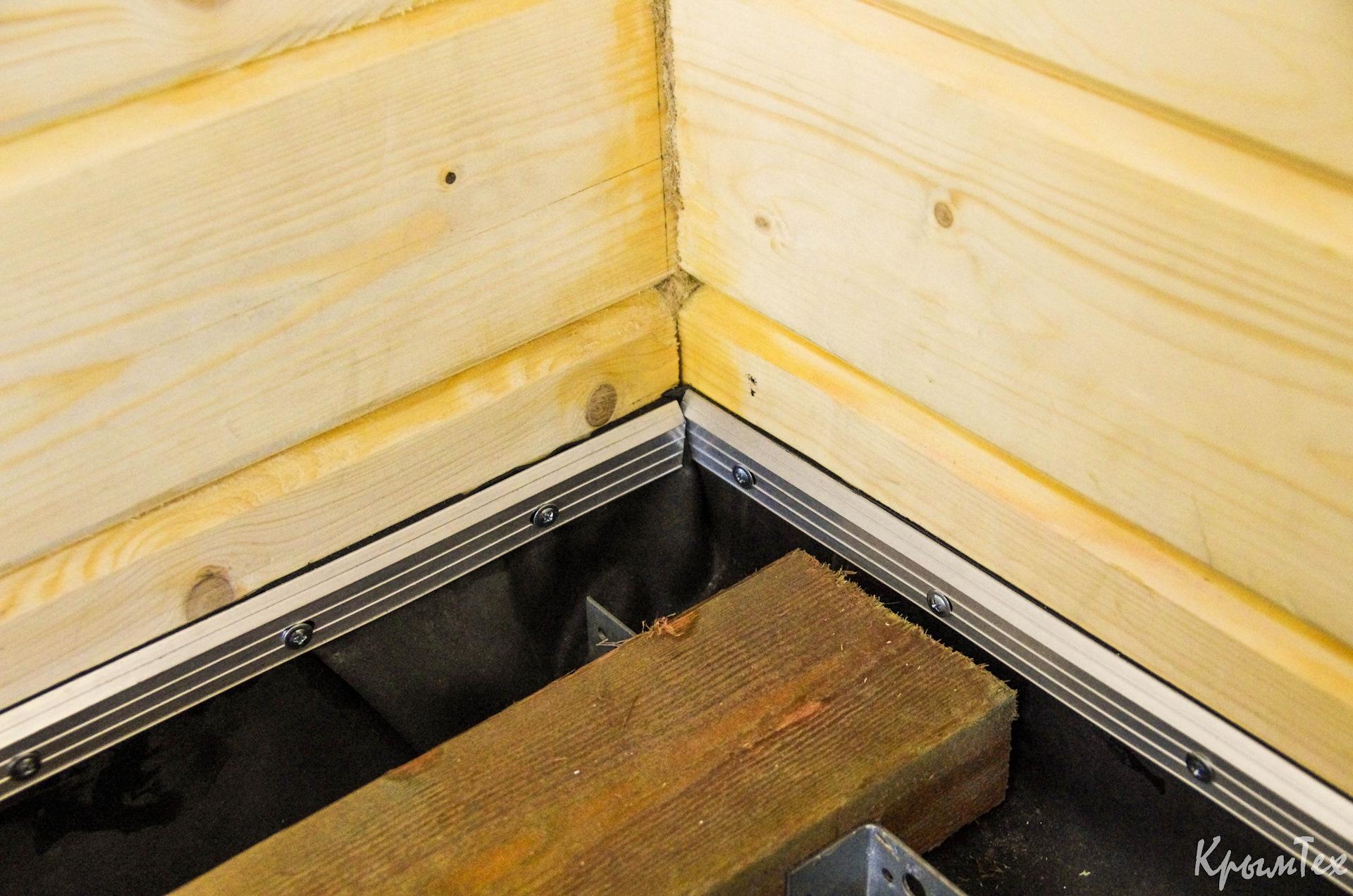 Полы в бане на свайном фундаменте - как сделать, утеплить и видео