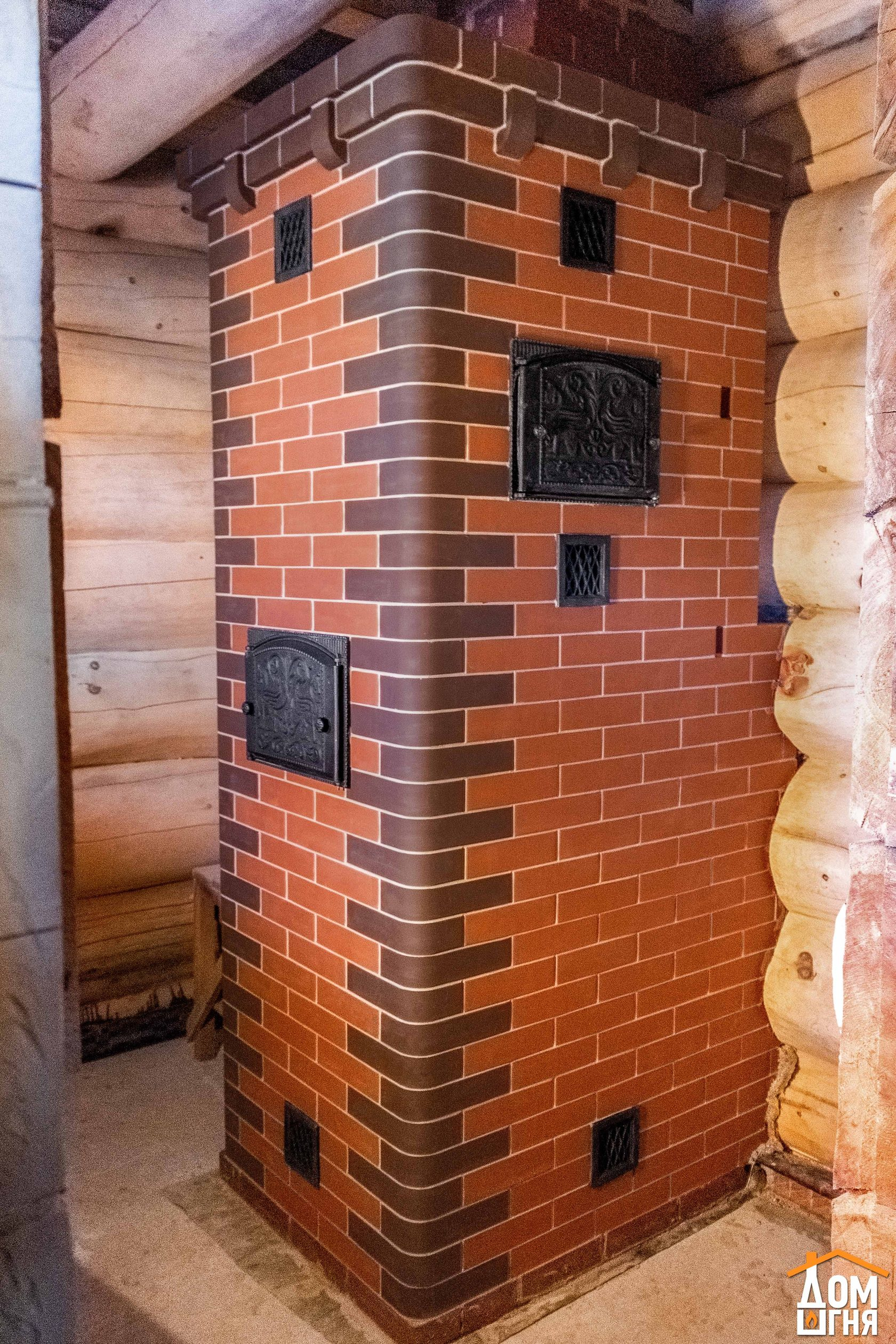 Кирпичная печь для бани или как сделать печь для бани из кирпича