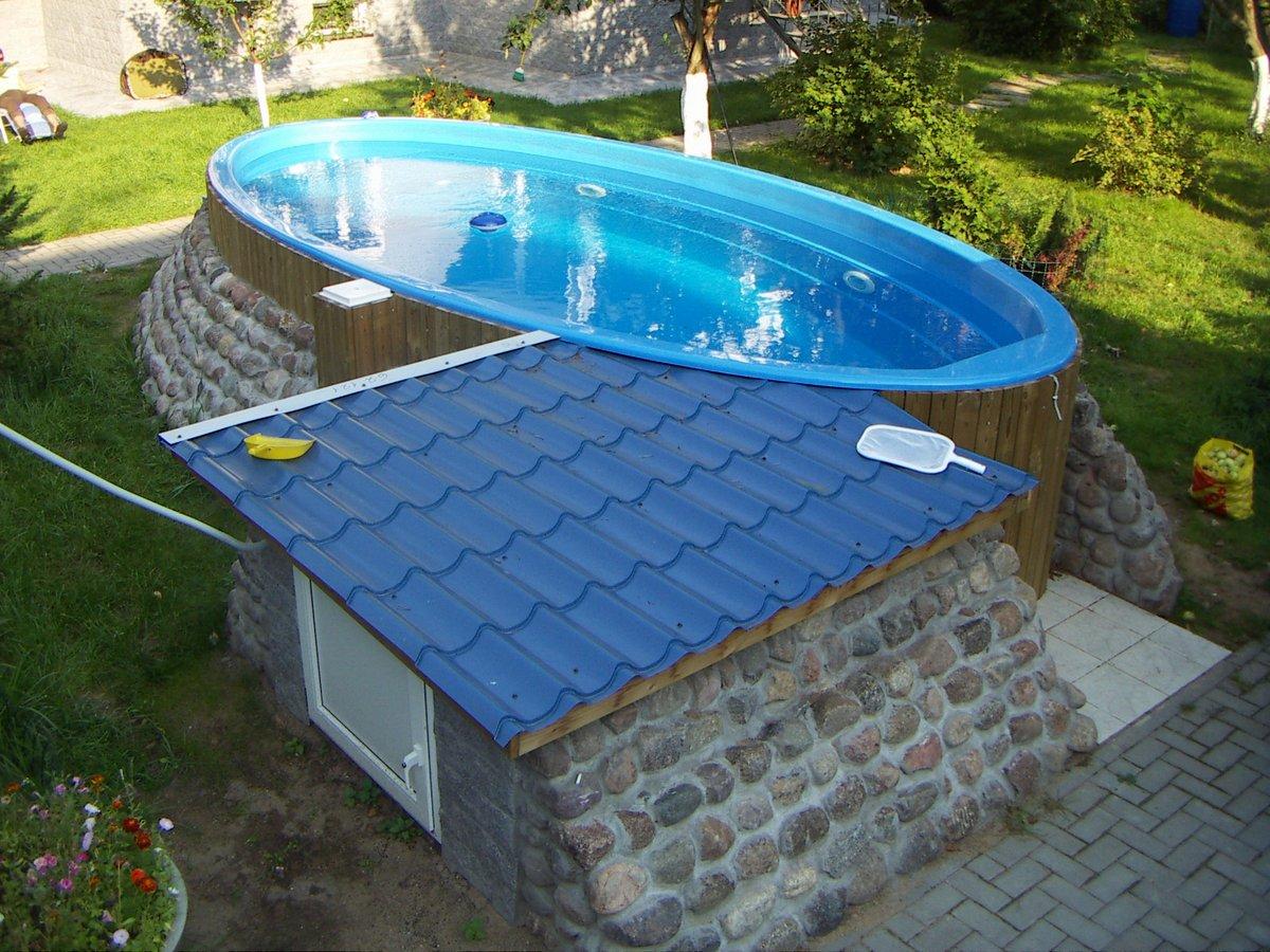 Бассейн для дачи композитный | | советы по ремонту
