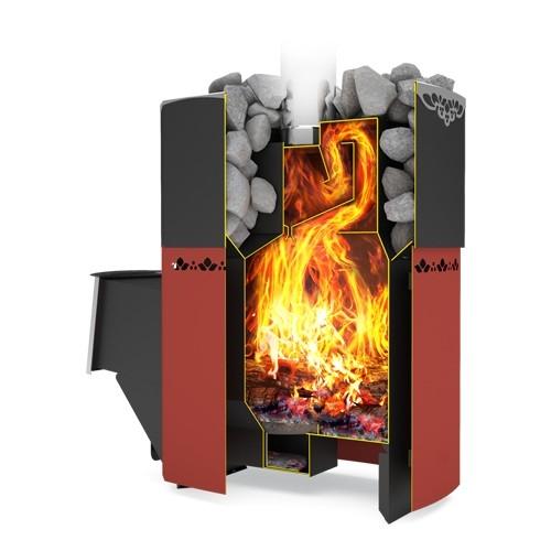 Отзыв о печь для бани дровяная теплодар  русь 12: доволен!. автор юрий