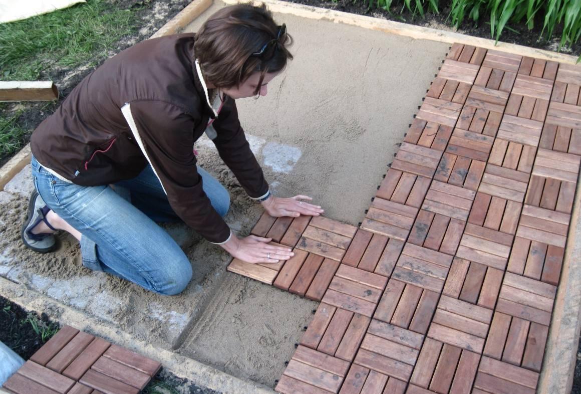Укладка тротуарной брусчатки - варианты + пошаговая инструкция!