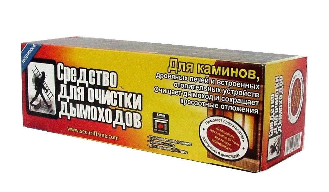 Чистка дымохода в домашних условиях: способы, средства