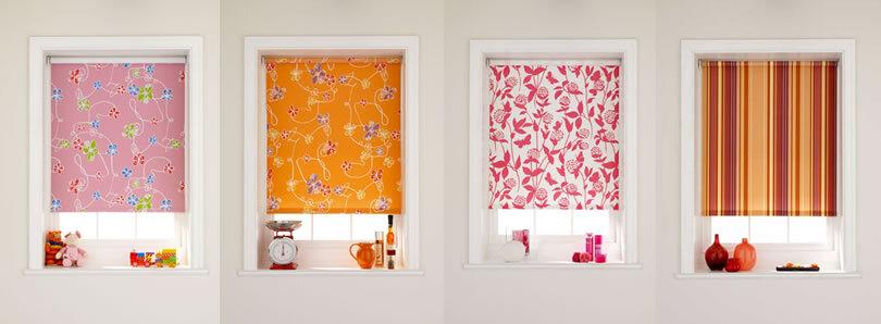 Рулонные шторы на пластиковые окна: фото в интерьере