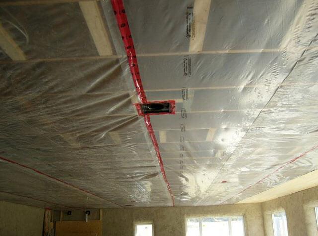 Виды, выбор и стоимость пароизоляции для потолка