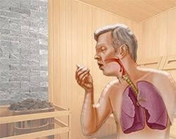 Баня при кашле, насморке и болях в горле: можно или нельзя париться
