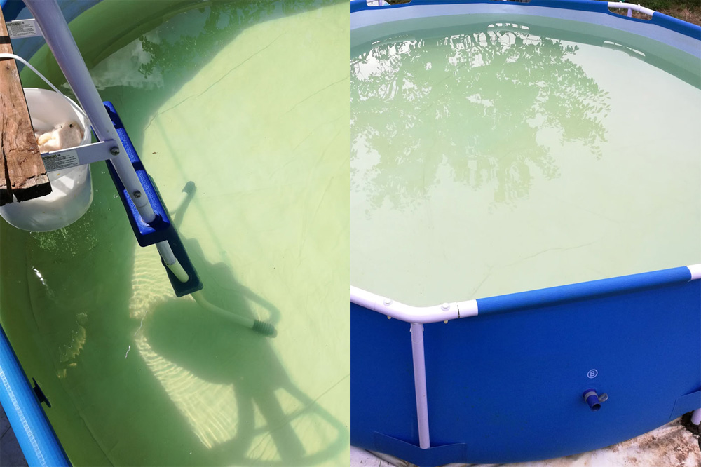 Как помыть надувной бассейн: на даче, в домашних условиях, не сливая воду, средства для очистки, чем почистить детский