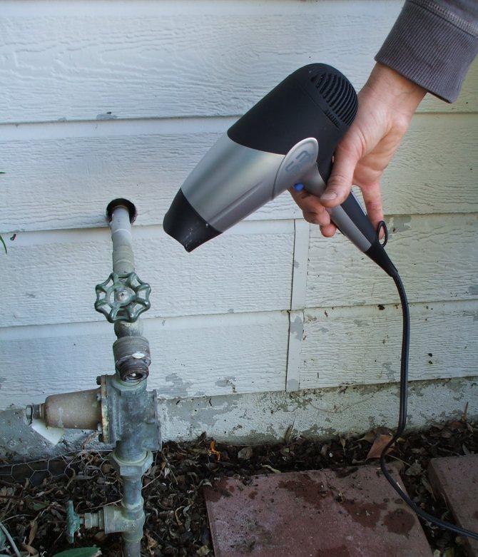 Как утеплить трубу водопровода на улице, чтобы не замерзала зимой способы, фото, видео