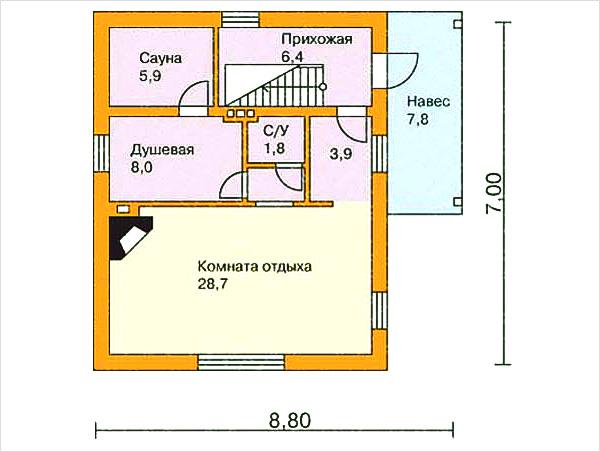 Баня из газобетона своими руками: строительство своими руками, внутренняя отделка, как построить из газоблока парилку, проект