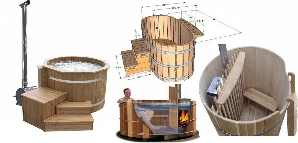 Японская баня офуро - особенности и строительство бани
