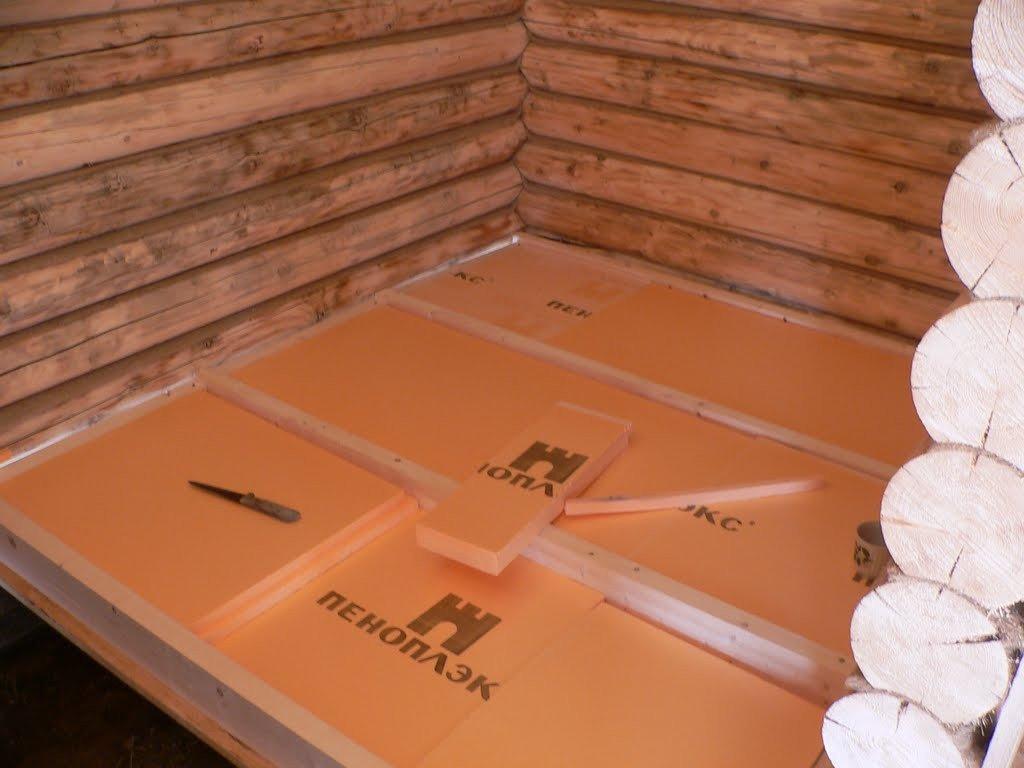 Как утеплить полы в бане своими руками - строим баню или сауну