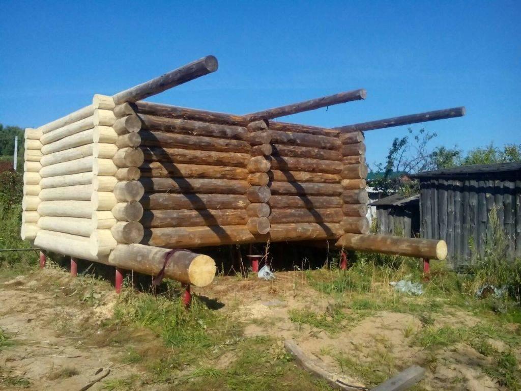 Фундамент на винтовых сваях для бани – как правильно возвести