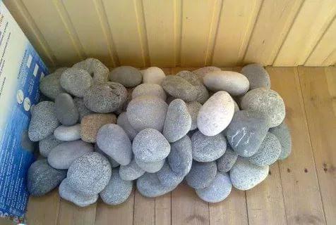 Речные камни для бани как выбрать