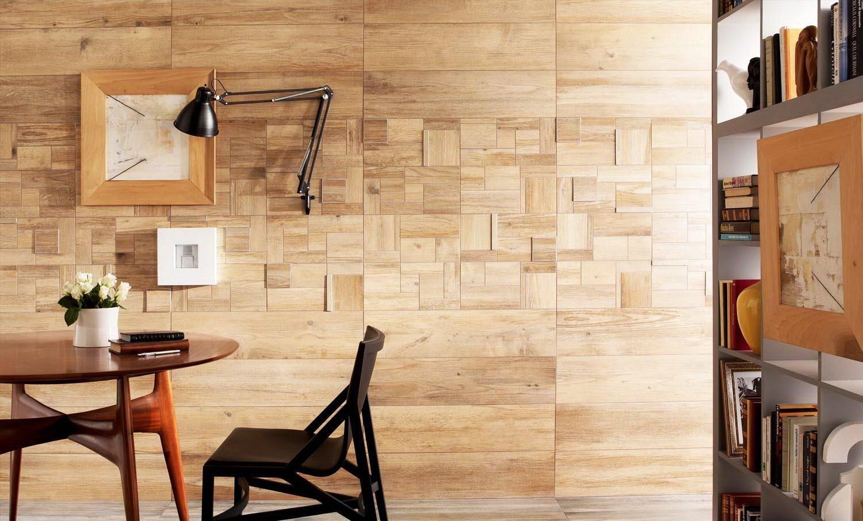 Ламинат на стене в интерьере [+ 50 реальных фото]