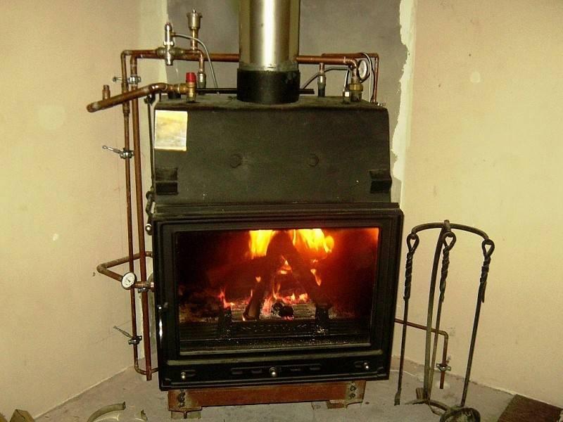 Как сделать водяное отопление от печи на дровах – пошаговое руководство
