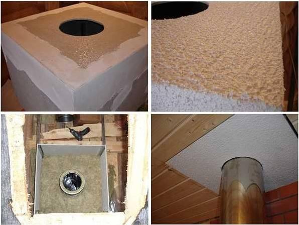 Как и чем сделать изоляцию трубы в бане – материалы и способы