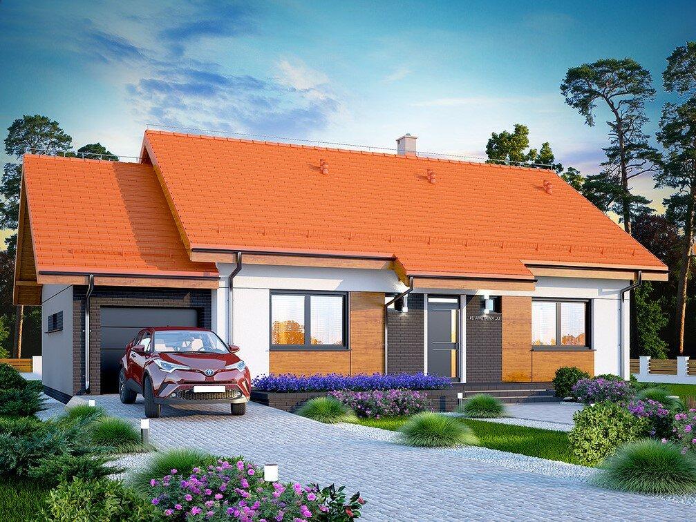 Проекты домов и коттеджей с гаражом под одной крышей в москве: каталог, фото