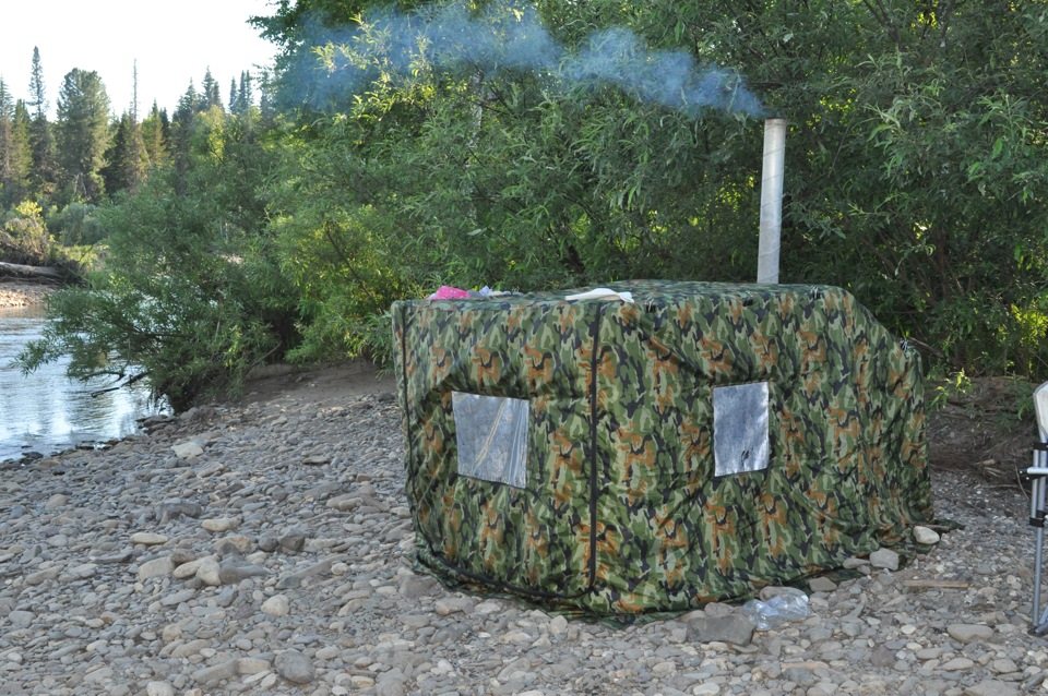 Мобильная баня своими руками или учимся париться в походных условиях