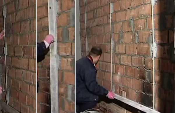 Установка маяков для оштукатуривания стен. Копилка ценных советов мастеров