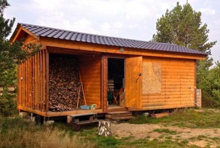 Все о постройке хозблоков с туалетом и душем для дачи