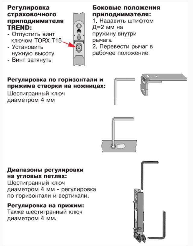Регулировка пластиковой балконной двери своими руками: 9 основных правил